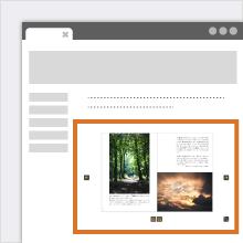 Webページ・ブログへの埋め込み