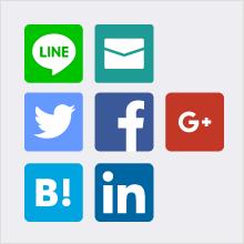 Twitter、Facebookへの投稿